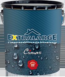 Extralarge guaina liquida bituminosa elastometrica Cimar - Nuova latta