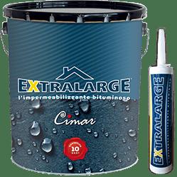 Latta di Extralarge Guaina Liquida Bituminosa Elastometrica