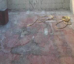 terrazzi molto deteriorati